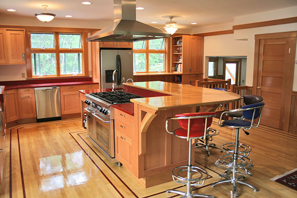 Classic woodworks cape cod custom cabinets for kitchens for Classic kitchen cabinets inc